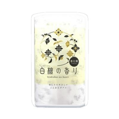 おしりにやさしいふんわりダブル【白檀の香り】12R ダブル