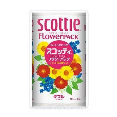 【スコッティーフラワーパック】12R ダブル