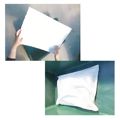 水漏れ・都市型水害・窓の結露対策【スバル 吸水土のう 水分吸収シート3L用】10枚