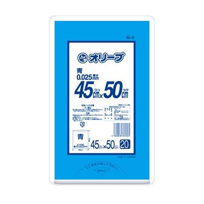 オリーブ本舗オリジナル【オリーブ 0.025mm 15Lゴミ袋】20枚